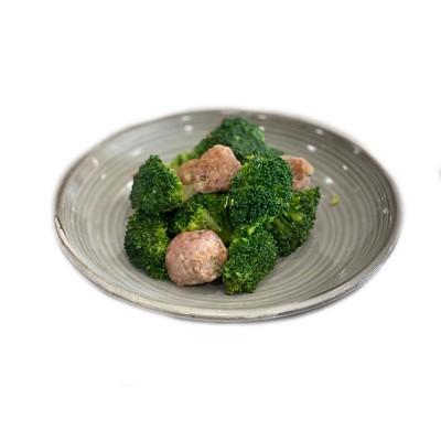 Contorni Cotti-Broccoli e Salsiccia